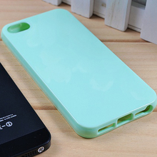 Soft TPU Case For iPhone 5 iPhone 6 Jelly Cell Phone Case