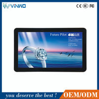 46'' Indoor Network Android Digital Advertising Touch Screen