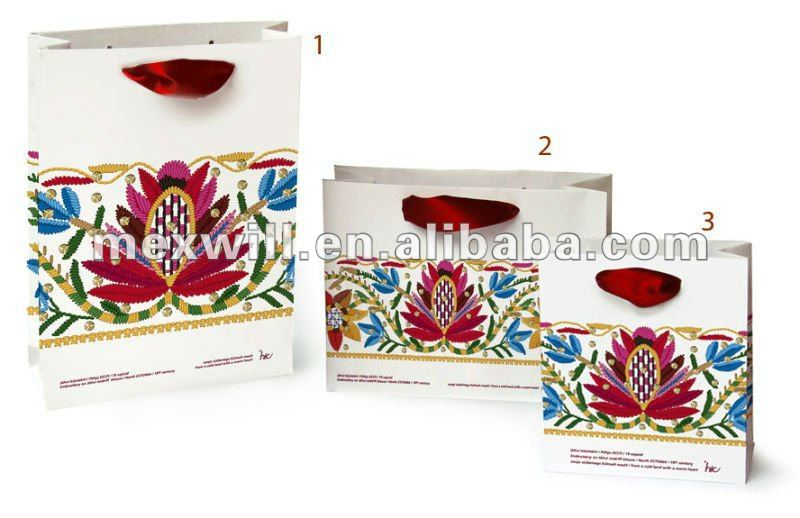 2012 artistic creation shopping paper bag