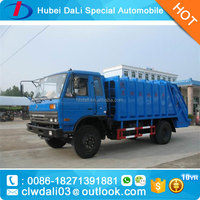 12T exquisite cheap dump compression garbage truck in the hot