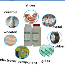 Transparent Pure 5mins Epoxy Resin and Hardener Two Components AB Glue for Ceramia Steel Metal Glass Composite Material