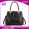 2016 newest large elegant office lady pu leather handbags with low price