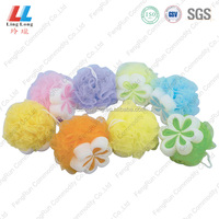 flower body dead cell bath sponge