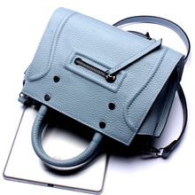 smile face woman's handbags hot selling leather shoulder bags