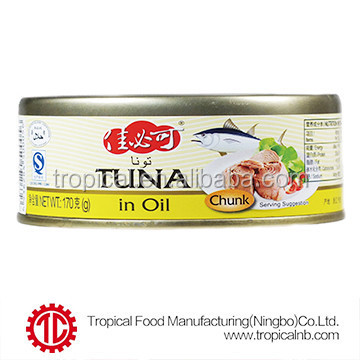 Canned tuna in sunflower oil by canned tuna manufacturers From China