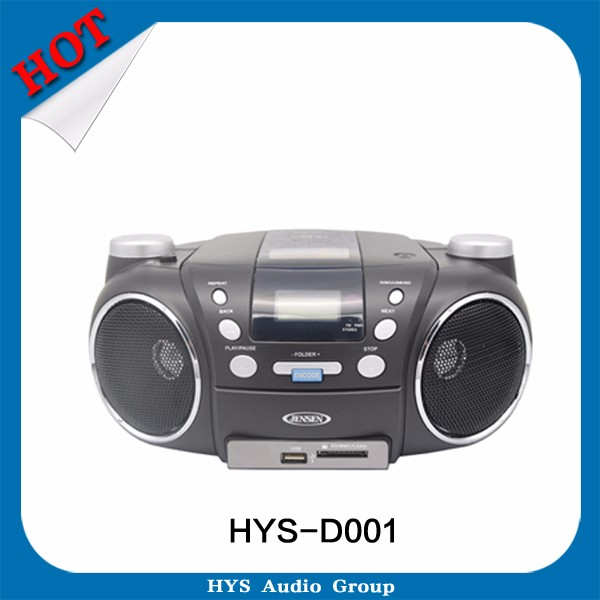 Portable Kids Outdoor CD Player Multi Boombox USB FM AM Radio