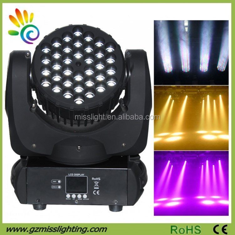 Mac 101 Copy 36leds x <strong>5W</strong> RGBW Mini <strong>LED</strong> Beam Moving Head <strong>Light</strong>