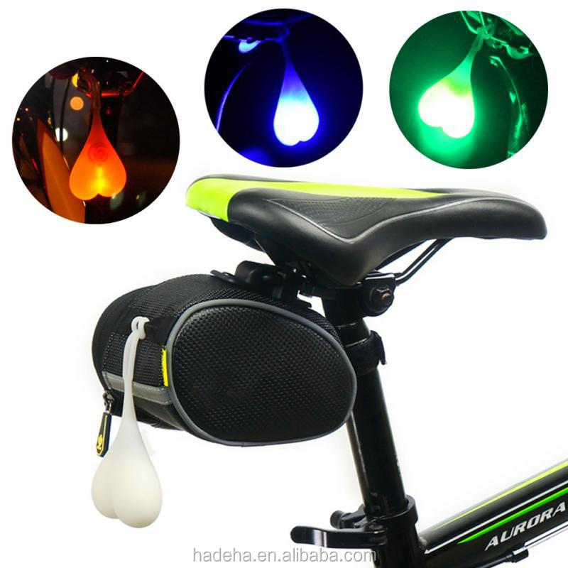 Multicolor LED Heart Shape Ball Led Warning Bike Tail Light MTB Bicycle Rear Light Tailight Bike Accessories/bike ball light