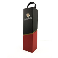 best price luxury hand made rigid gift box foldable paper wine box