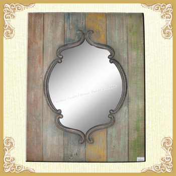Traditional family wall mirror