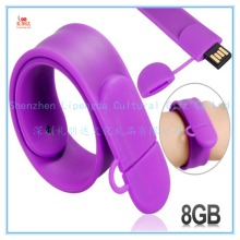 Wholesale fashion custom usb bracelet wristband, bracelet usb wristband, usb flash memory stick for usb