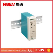 110v/220v ac to dc MDR-60-12 60W 12V 5A Din Rail Power Supply