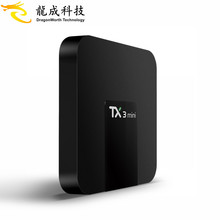 New arrival TX3 mini 1GB or 2GB RAM 16GB ROM Amlogic S905W Quad Core Android 7.1 Tv Box