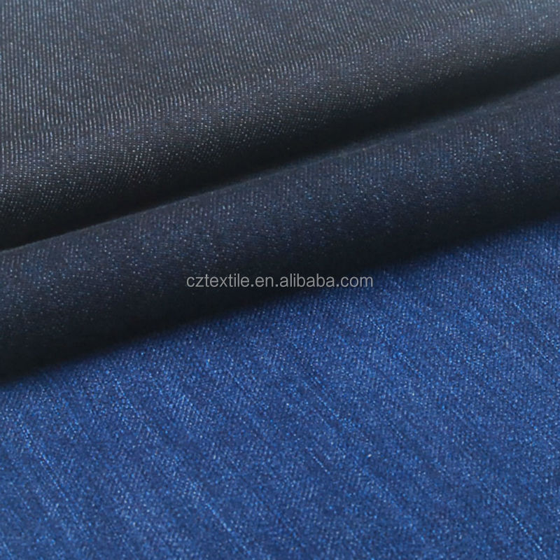 Popular 5oz 100 indigo cotton denim shirting fabric