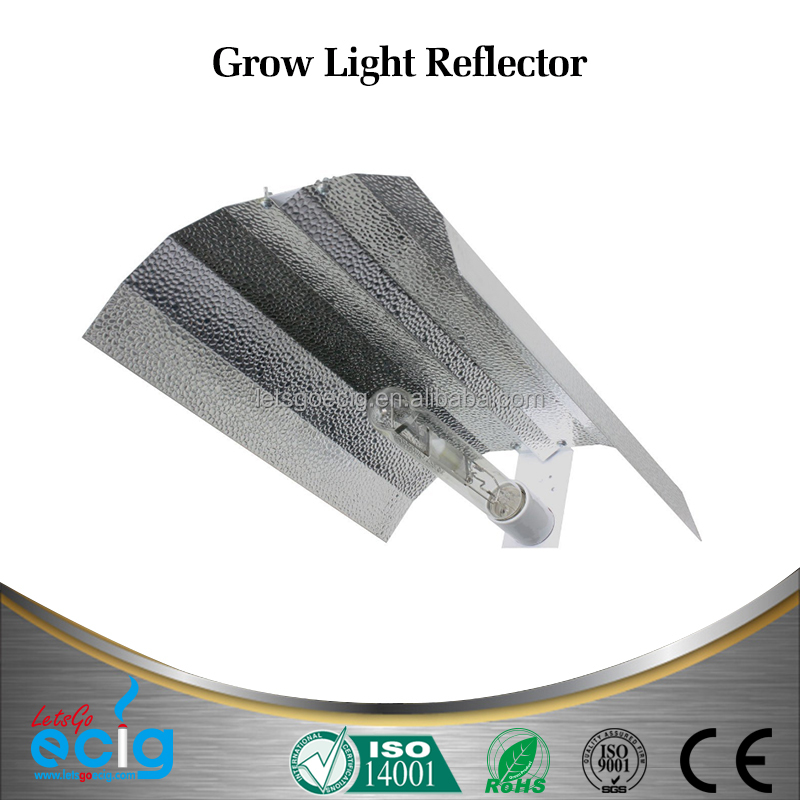 RMS Hydroponic Grow Systems Grow Light Reflector Aluminium Reflector Lamp Shade for Indoor Garden Box Lighting