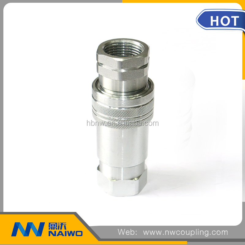 high quality stainless steel quick fittings/male & female couplings