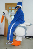 Good vision riding animal costume ride on stork riding animal costume