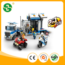 537 PCS kids brick toys city police station building block for boys and girls