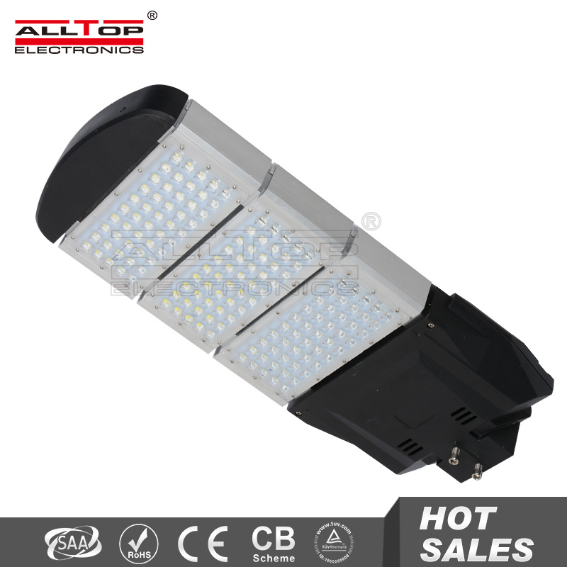 150W super bright outdoor IP65 smd aluminum led street lighting casing
