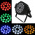 12W x 18pcs Die-Cast par led rgbwa 5-in-1 stage light