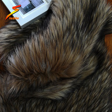 wholesale faux long hair soft fur fabric from china supplier