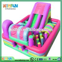 Contemporary hot sale cartoon inflatable water slide combo