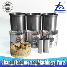 Huayuan Laidong Diesel Engine Parts KM385 Piston Cylinder Kit