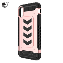 5 inch Shockproof TPU armour mobile phone case Cover for Apple iPhone X