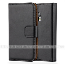 Wholesale PU Leather Wallet Phone Case With Card Slots For Galaxy S3 Mini, Flip Cover For Samsung Galaxy S3 Mini