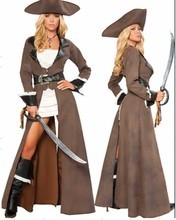 Women Leather Pirate Costumes