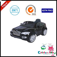 Simulation kids electric X6 ride on car