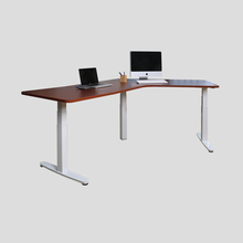 Standing Desk Height Adjustable Electric 120 Degree Angle Three Leg Desk (Frame only) Stand Ergonomic L Frame