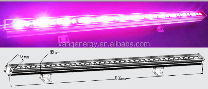 3.3ft IP65 36W LED grow bar light plant vegetable shortening