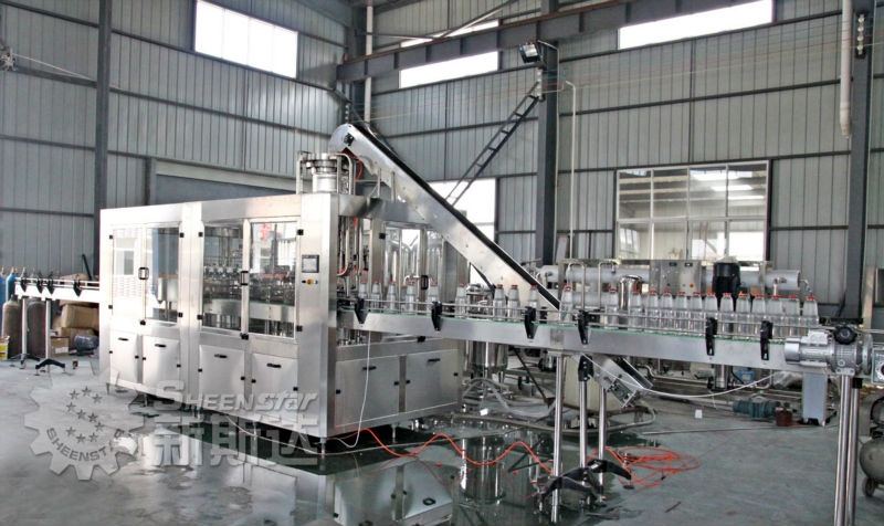 New Glass Bottle Filling Machine for oxygen water
