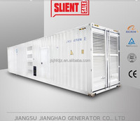 40HC Containerized Soundproof diesel generator 1000kw 1MW generator
