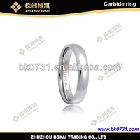 2015 Bokai ZZ High Quality of white tungsten carbide ring