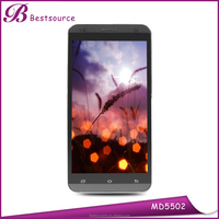 Unlocked 5.5 inch Cell Phone MTK6572 Dual Core 1GB 8GB Dual SIM 5MP Camera 960*540P GPS 3G Android 4.4 Mobile Phone