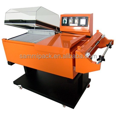 Best selling high food manual puff shrink wrapping machine