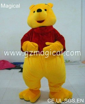 Cute Inflatable winnie plush mascot costume