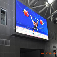 Commercial P10 P6 P8 Outdoor Full Color LED Display With Iron / Aluminum Cabinet