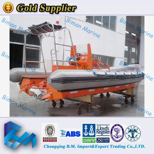 9 persons inflatable rescue boat for sale