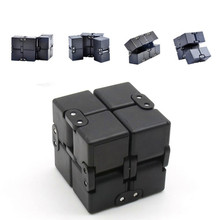 Infinity Cube Fidget Cube Toy for Adults / Kids Relieve Stress / Anxiety Cool Hand Fidget Stress Toy Magic Flip Cube