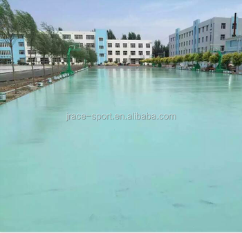 synthetic silicon PU volleyball court floor material