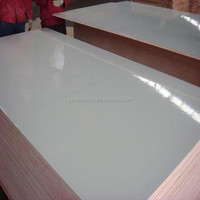 18mm white HPL melamine plywood sheet
