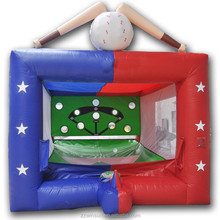 Commercial inflatable batting cage for sale