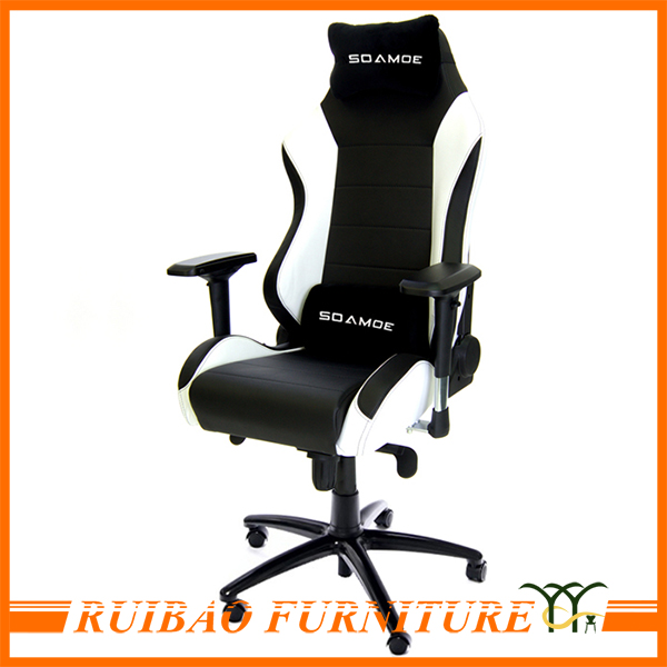 Modern Cyber Cafe Furniture Used Leather Seats Cheapest Comfy Gaming Chair