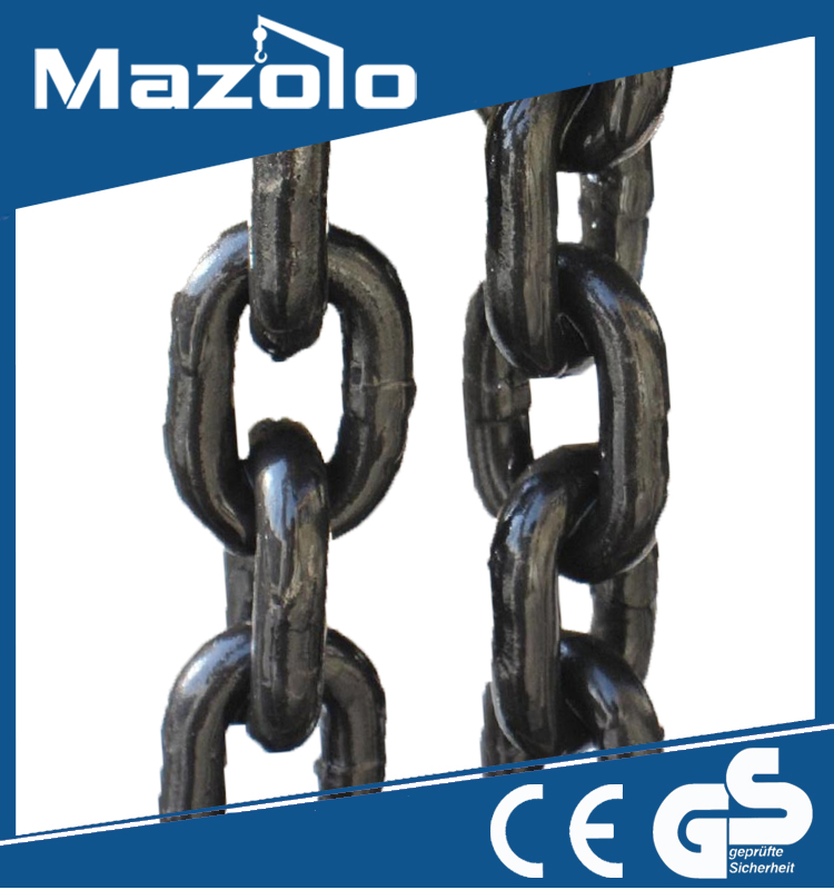 Marine stainless steel stud link galvanized anchor chain