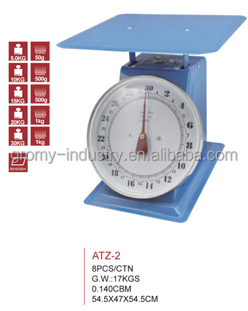 Mechanical Kitchen Scale Dial Spring Scale 20kg 30kg
