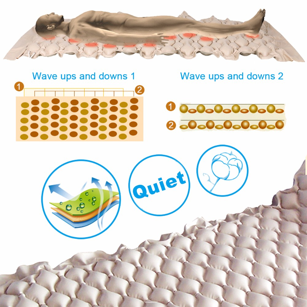 Health Medical custom inflatable anti decubitus mattress