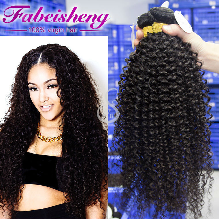 Deep curly remy human hair weave extension, sweety Malaysian hair 100% human hair free tangle